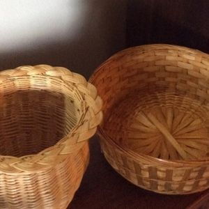 Set of Two Decorative Baskets